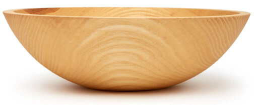 Farmhouse Pottery CRAFTED WOODEN BOWL