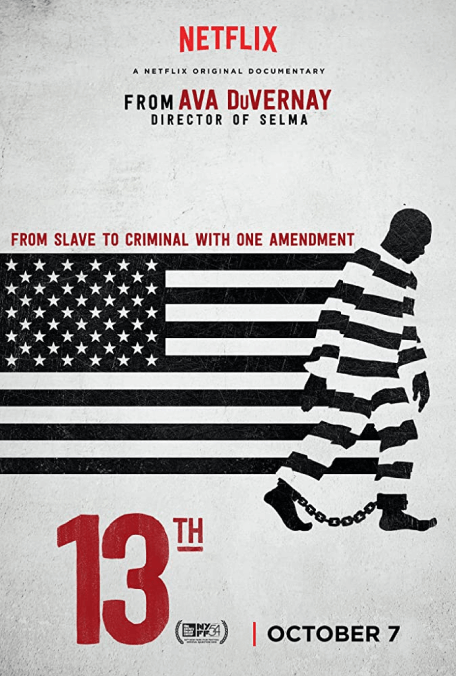 13TH, now streaming on Netflix