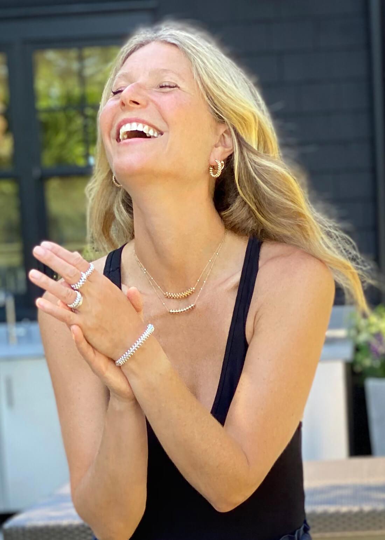 Gwyneth smiling