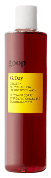 goop Beauty Ginger + Ashwagandha Energy Body Wash