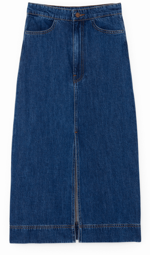 Glabel YU DENIM PENCIL SKIRT
