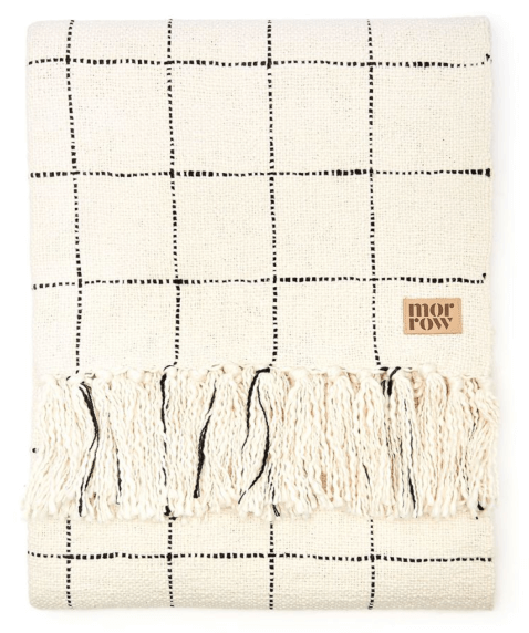 Morrow CLAUDE COTTON THROW BLANKET