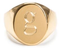 Sarah Chloe x goop pinky ring