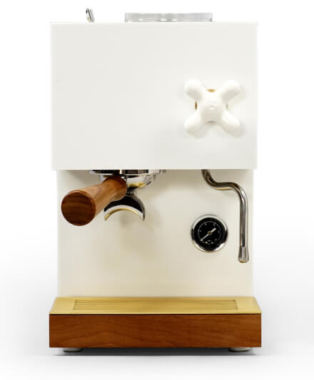 ANZA WHITE ESPRESSO MACHINE