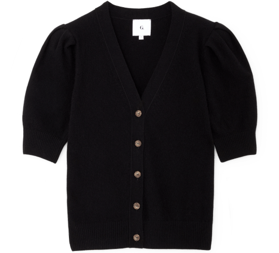 Juliette Short-Sleeve Cardigan