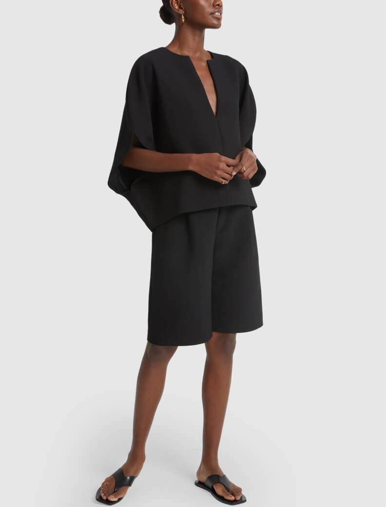 Totême blouse and shorts