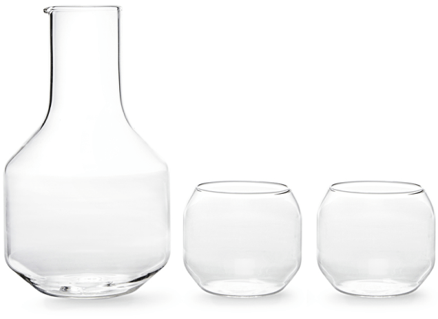 VELASCA CARAFE & GLASSES SET