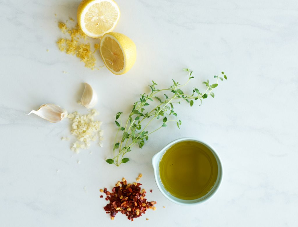 Lemon, Garlic, and Chili Marinade
