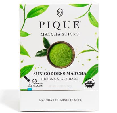 Pique Tea SUN GODDESS MATCHA STICKS