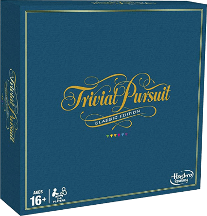 Hasbro Gaming Trivial Pursuit: Classic Edition