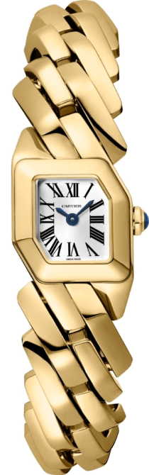 MAILLON DE CARTIER WATCH, YELLOW GOLD