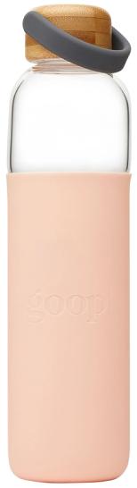 goop GOOP GLASS WATER BOTTLE, 25 OZ