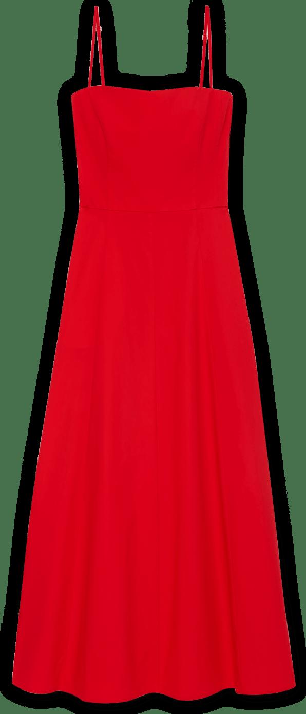 Glabel Cambria Skinny-Strap Midlength Dress