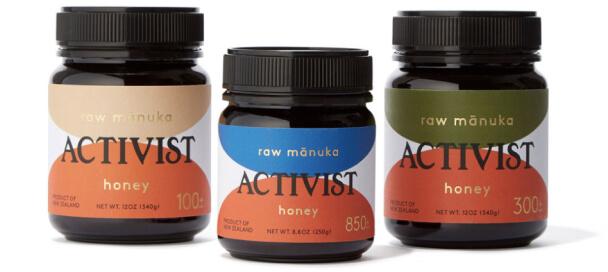 Activist Manuka Honey Trio