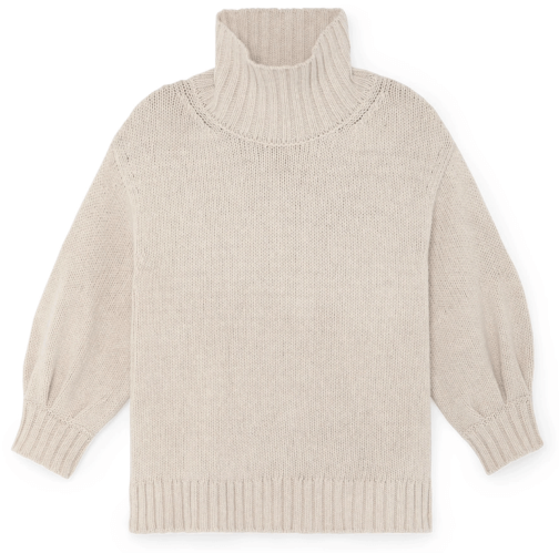 G. Label Evangelyn puff-sleeve sweater