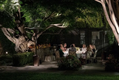 The French Laundry Dinner FOR TWO IN THE OUTDOOR DINING ROOM