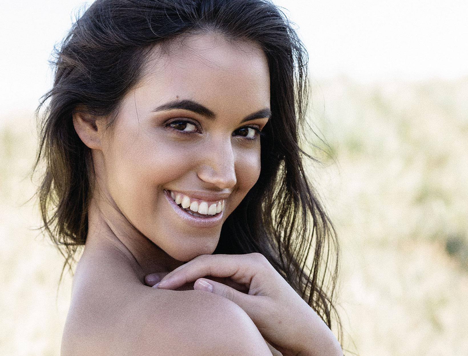 woman with nice skin