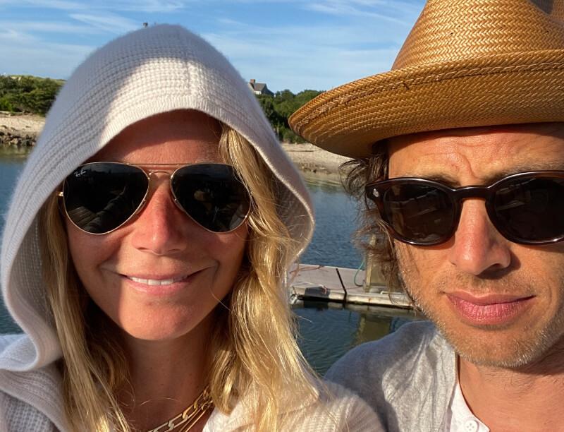 Gwyneth and husband