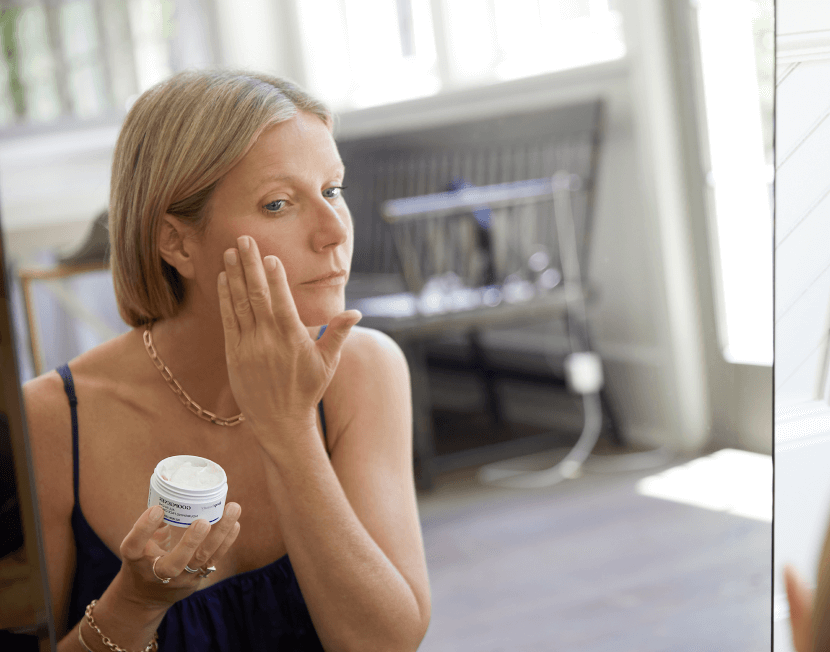 Gwyneth using goopgenes
