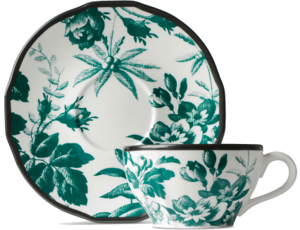 Gucci cup and saucer, double set