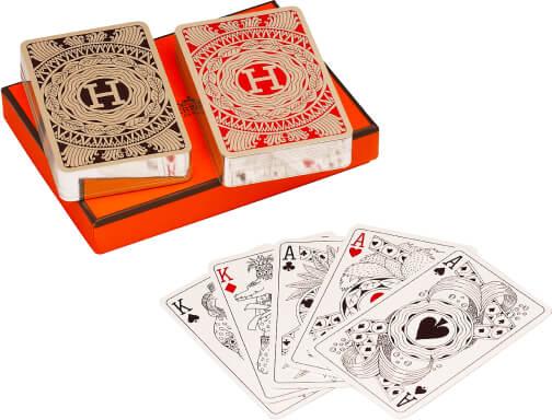Hermès playing cards