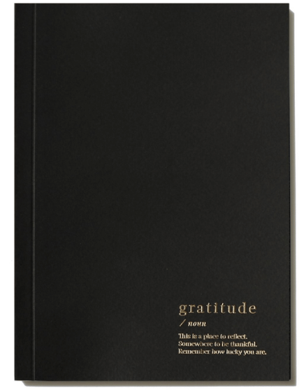 An Organised Life Gratitude Notebook