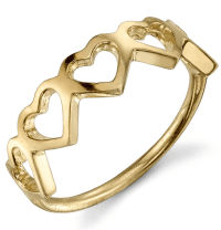 Sarah Chloe Love Counts Heart Ring