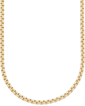 Laura Lombardi Essential Box Chain Necklace