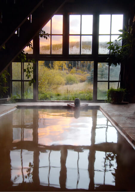 Dunton Hot Springs resort stay