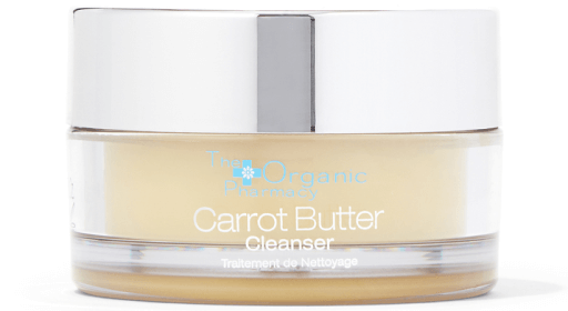 The Organic Pharmacy CARROT BUTTER CLEANSER & ORGANIC MUSLIN CLOTH