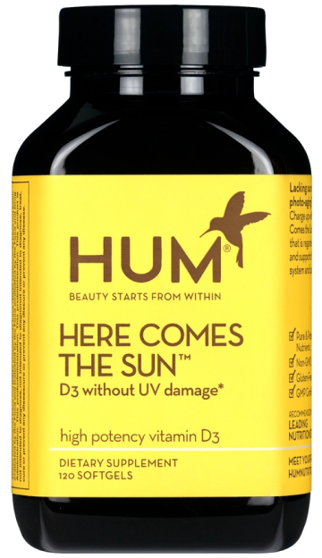 Hum Nutrition HERE COMES THE SUN HIGH-POTENCY VITAMIN D-3