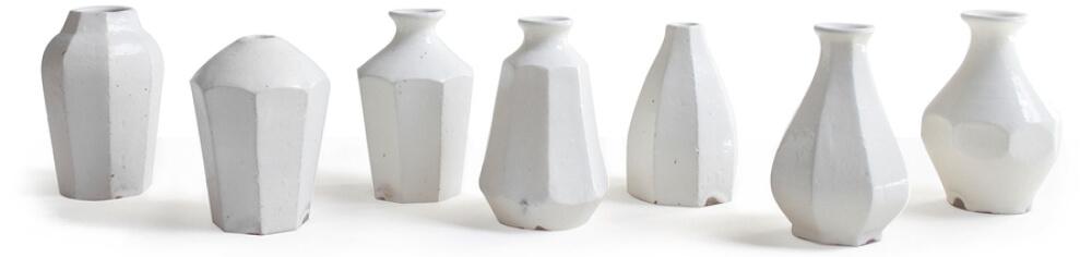 Roman and Williams Guild Hitoshi Kohiki Facet Vase