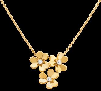 Van Cleef & Arpels FRIVOLE pendant, 3 flowers