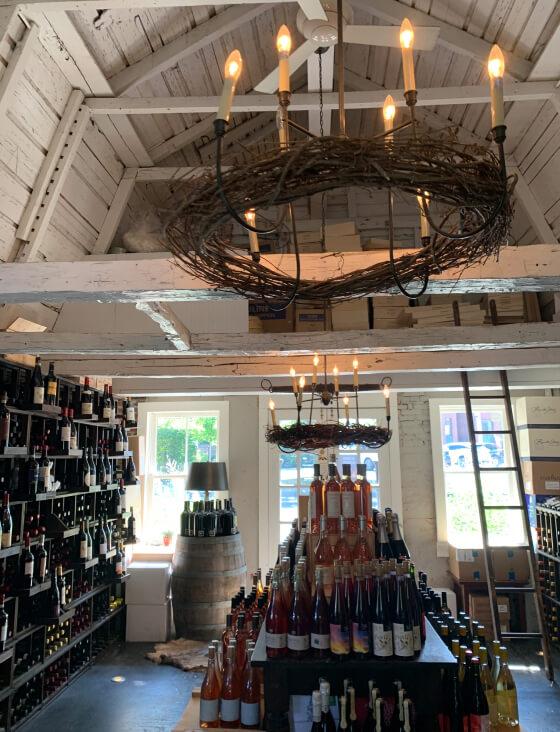 wine in market