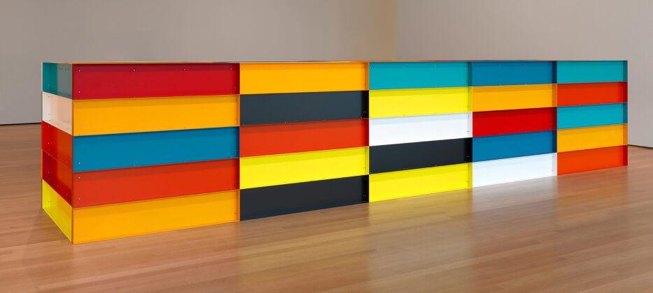 DONALD JUDD AT MOMA