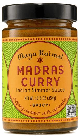 Maya Kaimal Madras Curry Simmer Sauce