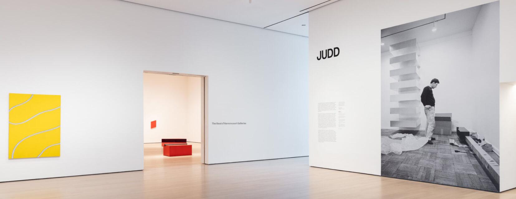 DONALD JUDD AT MOMA