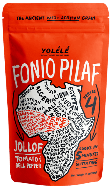 Yolélé Jolof Fonino Pilaf