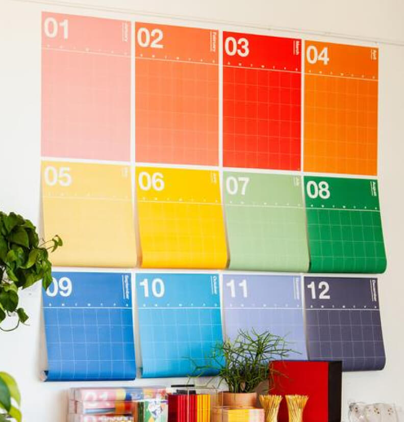 Poketo SPECTRUM WALL PLANNER