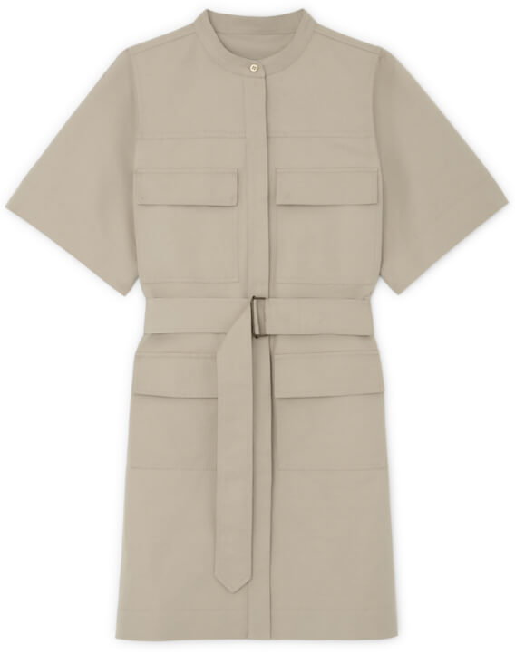 G. Label UMBRIA UTILITY SHIRTDRESS