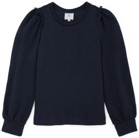 G. Label TORRES PUFF-SLEEVE SWEATSHIRT