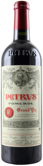 Wally's 2017 Petrus Futures