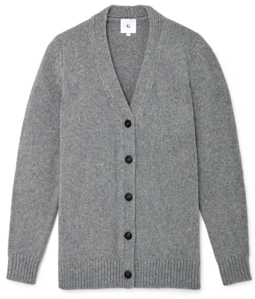 G. Label PROPST ROUND-SLEEVE CARDIGAN