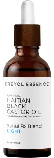 Esencia de Kreyol Aceite de ricino negro haitiano ligero