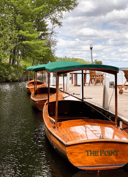 The Point boat rental