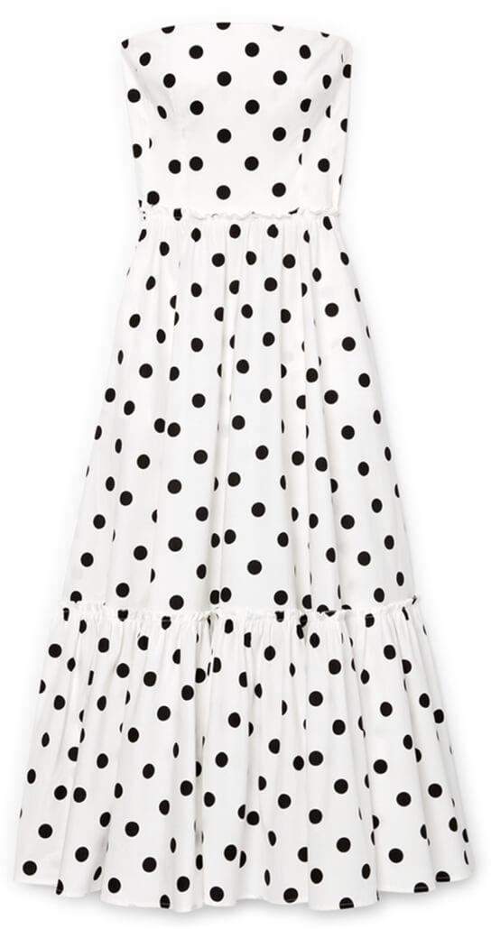 G Label Zera Strapless Tiered Dress