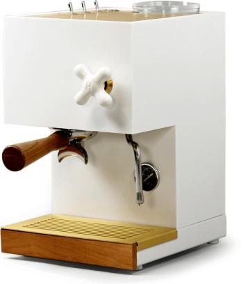 ANZA WHITE ESPRESSO MACHINE