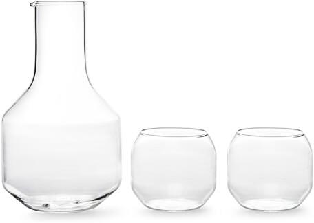 R+D Design Lab VELASCA CARAFE & GLASSES SET