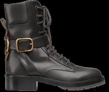 Chloé diane lace-up boots
