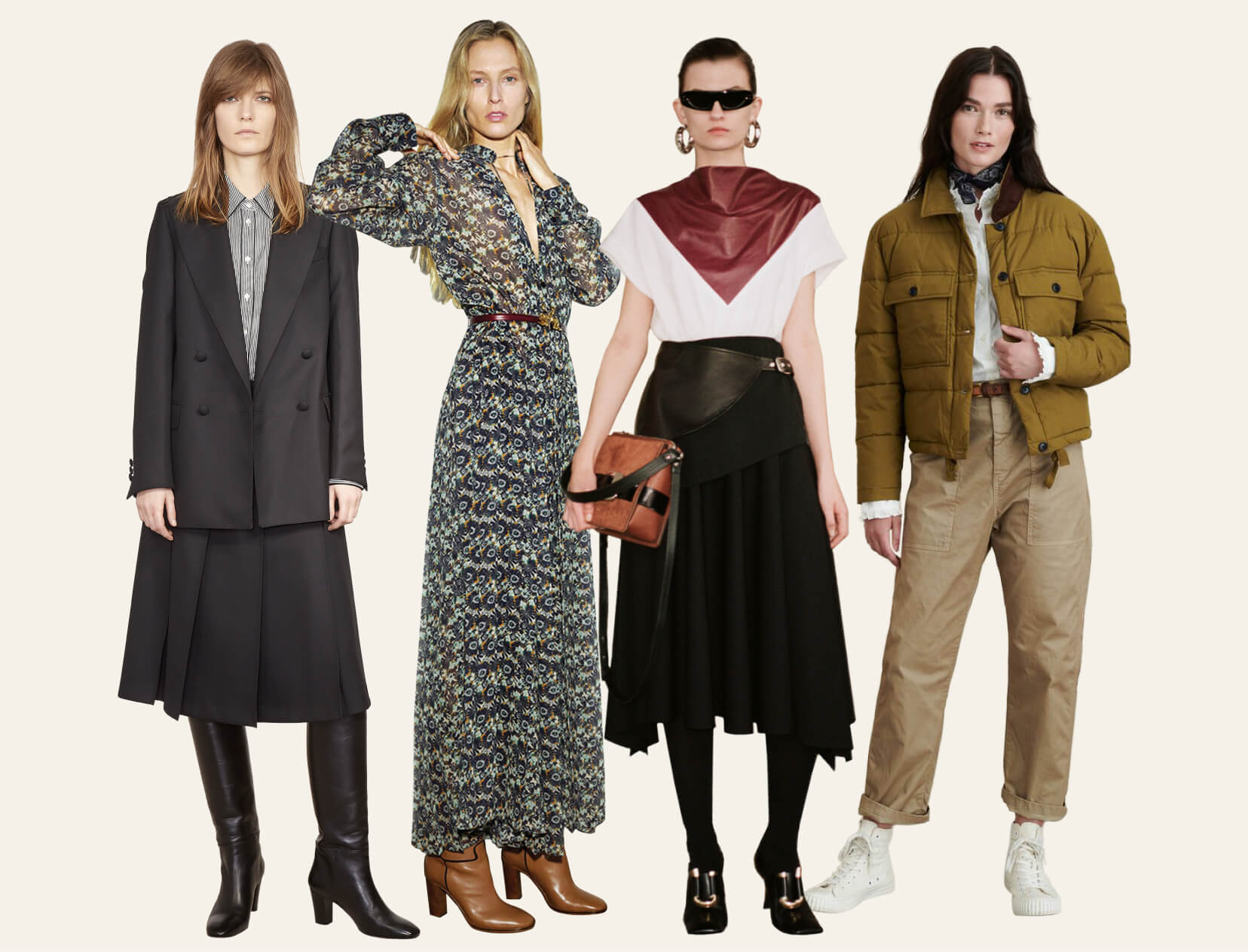 women in fall outfits